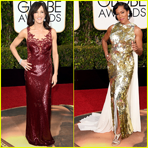 Felicity Huffman & Regina King Are Leading Ladies At Golden Globes 2016!