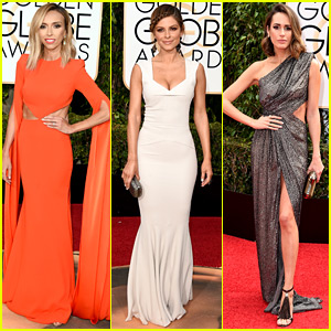 Giuliana Rancic & Maria Menounos Heat Up the Golden Globes 2016 Red Carpet!