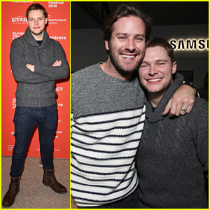 Jack Reynor Gets Support From 'Free Fire' Co-Star Armie Hammer At Sundance 2016!