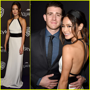Jamie Chung & Bryan Greenberg Couple Up for InStyle Golden Globes Bash 2016