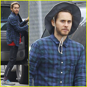 Jared Leto Steps Out After TMZ Sues Source That Leaked Studio Video