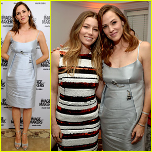 Jennifer Garner & Jessica Biel Honor Their Favorite Image Makers at Marie Claire Event!