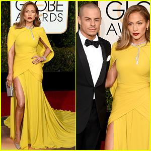 Jennifer Lopez & Casper Smart Are One Hot Couple at Golden Globes 2016!