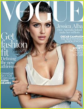 Jessica Alba Covers 'Vogue Australia' February 2016