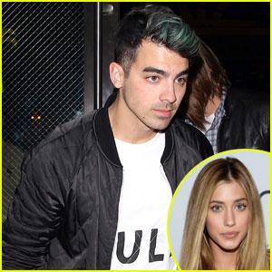 Joe Jonas Spotted Kissing Former 'America's Next Top Model' Contestant Jessica Serfaty