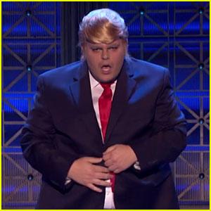 Josh Gad Spoofs Donald Trump on 'Lip Sync Battle' (Video)