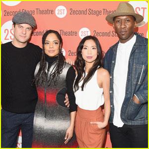 Joshua Jackson & Tessa Thompson Prepare for 'Smart People'