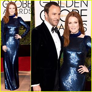 Julianne Moore Brings Tom Ford As Golden Globes 2016 Date!