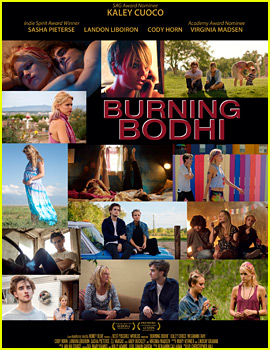 Kaley Cuoco Stars in 'Burning Bodhi' - Exclusive Poster Debut!