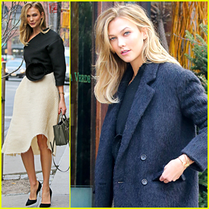 Karlie Kloss is A Chic Model Off-Duty in NYC