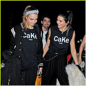 Kendall Jenner & Cara Delevingne Launching 'CaKe' Fashion Line