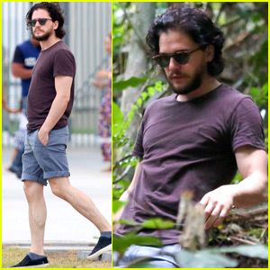 Kit Harington Treks Through the Brazilian Rain Forest