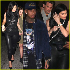 Kylie Jenner & Tyga Step Out for Thursday Night Date