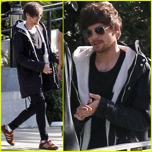 Louis Tomlinson Steps Out After Sharing First Photo of His Son
