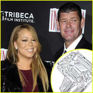 Mariah Carey's Engagement Ring is Worth $7.5 Million! (Photos)