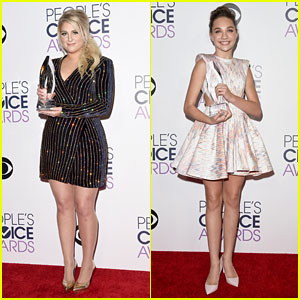 Meghan Trainor & Maddie Ziegler Win at People's Choice Awards: 'Can't Believe You Guys Did That'