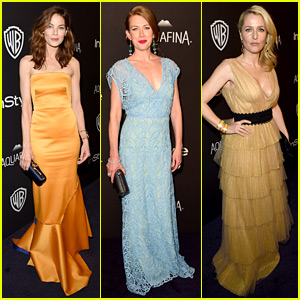 Michelle Monaghan & Mireille Enos Make it to the Golden Globes 2016 After Party!