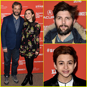 Judd Apatow Supports Daughter Maude at 'Other People' Sundance Premiere!