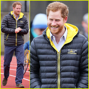 Prince Harry Cheers on Invictus Games Competitors At University of Bath!