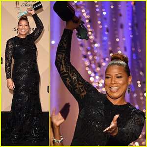 Queen Latifah Wins at SAG Awards 2016!