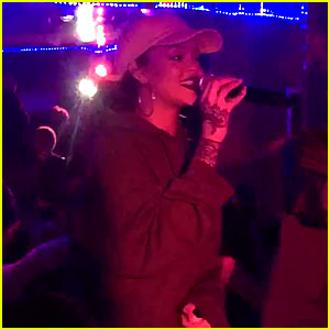 Rihanna Sings Impromptu Karaoke at Miguel's Wildheart Motel - Watch Now!