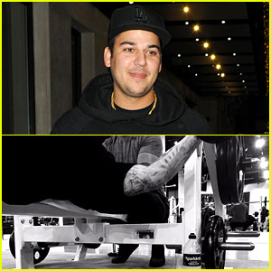 Rob Kardashian Posts Workout Pic Amid Blac Chyna Romance