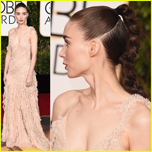 Rooney Mara Rocks Fierce Braid at Golden Globes 2016!