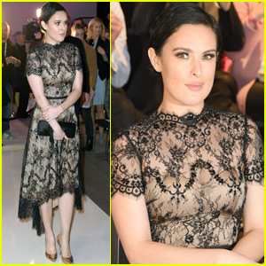 Rumer Willis Attends Fashion Week in Germany