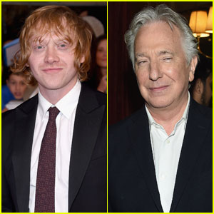 Rupert Grint Was 'Devastated' to Hear About 'Harry Potter' Co-Star Alan Rickman's Death