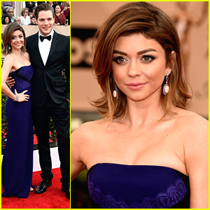 Sarah Hyland Brings Boyfriend Dominic Sherwood To SAG Awards 2016