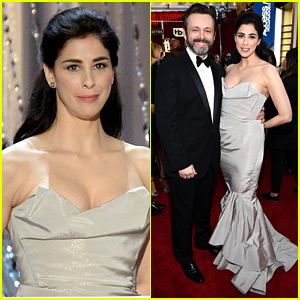 Sarah Silverman & Michael Sheen Couple Up at SAG Awards 2016