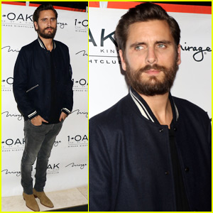 Scott Disick Keeps it Low Key During a Night Club Appearance