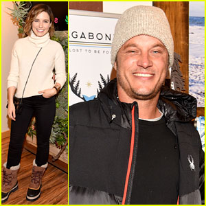 Sophia Bush & Travis Fimmel Check Out Sundance Gift Lounge