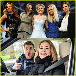 Spice Girls React to Adele's Carpool Karaoke Cover of 'Wannabe'