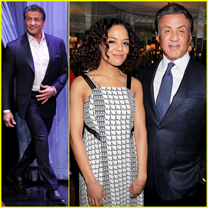 Sylvester Stallone Shows Michael B. Jordan Getting Knocked Out By A Pro - Watch Here!