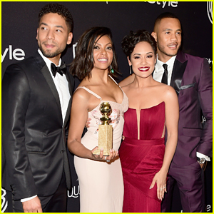 Taraji P. Henson Reveals Why She Handed Out Cookies at Golden Globes 2016!