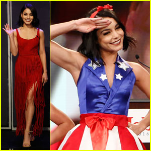 Watch Vanessa Hudgens Dance for Freedom on 'Jimmy Kimmel'