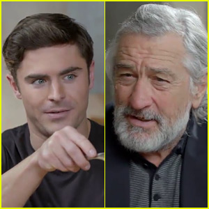 Zac Efron Gets Tricked Into Making Robert de Niro a Sandwich - Watch Now!