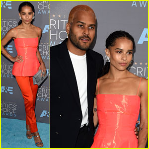 Zoe Kravitz & Boyfriend Twin Shaddow Attend Critics' Choice Awards 2016 Together!