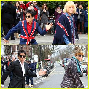 Ben Stiller & Owen Wilson Snap Amazing Abbey Road Photos!