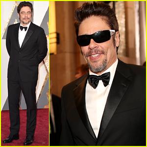 Benicio del Toro Suits Up for Oscars 2016!