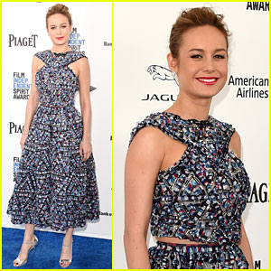 Brie Larson Attends Spirit Awards 2016 Before the Oscars