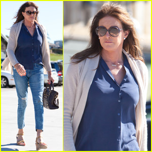 Caitlyn Jennner Get Some Shopping Done in Malibu