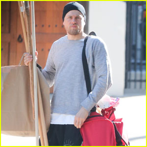 Charlie Hunnam Buys Vintage Home in Hollywood Hills