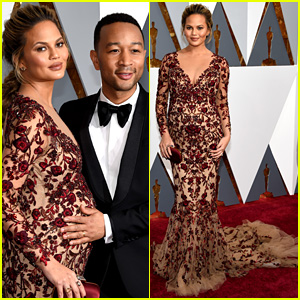 Chrissy Teigen & John Legend Are Picture Perfect at Oscars 2016