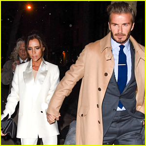 David & Victoria Beckham Do Date Night in Snowy NYC
