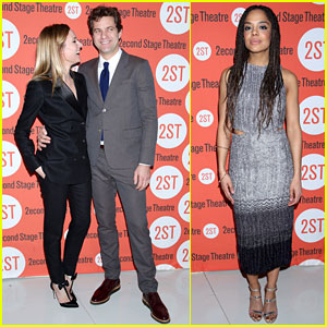 Diane Kruger Supports Joshua Jackson at 'Smart People' Opening