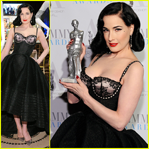 Dita Von Teese Puts On Her Best To Host Femmy Awards 2016!