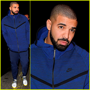 Drake Looks Casual While Stepping Out For a Night of Clubbing