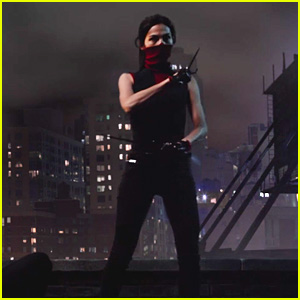 Daredevil's Elektra Shows Off Her Moves in New Trailer - Watch Now!